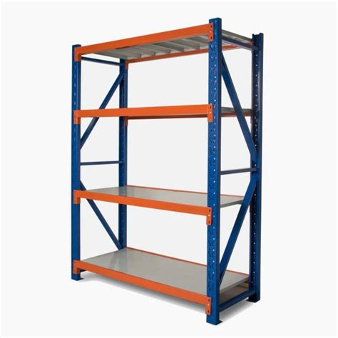 metal shelving 1 5m x 2m high x 0 5m united