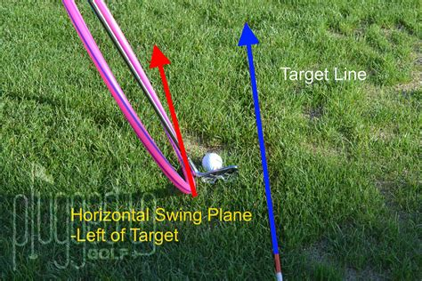 swing horizontal line horizontal swing plane plugged in golf