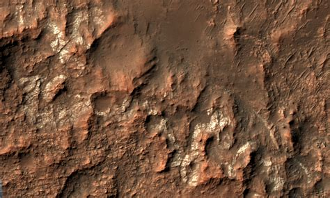 Science Monday Mars Is Covered In Table Salt Yes Salt by Hirise Looking For Salts On Mars Esp 034309 1485