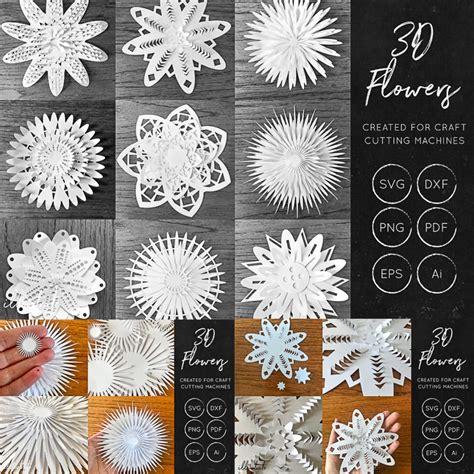 flower svg cut files