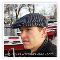 Topi Trucker Smart s flat cap gatsby hat pattern diy tutorial flats flat hats and flat cap