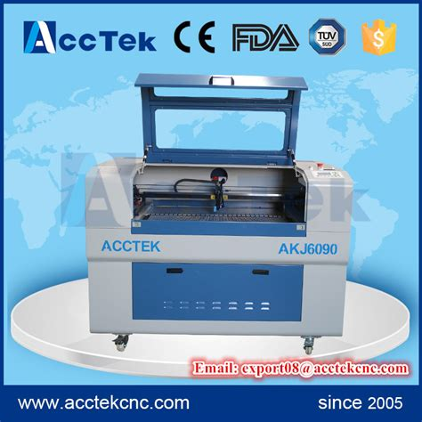 laser rubber st machine acctek high quality mini laser engraving machine price