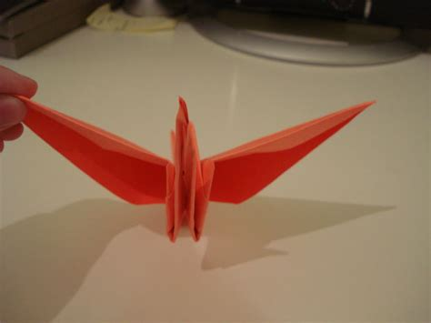 Origami Crane Flapping Wings - flapping origami crane 8