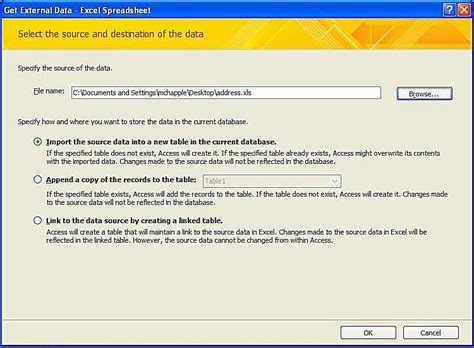 Convert Excel Spreadsheet To Access Database 2010 by Excel Tutorial Convert Spreadsheet To Access 2010 Database