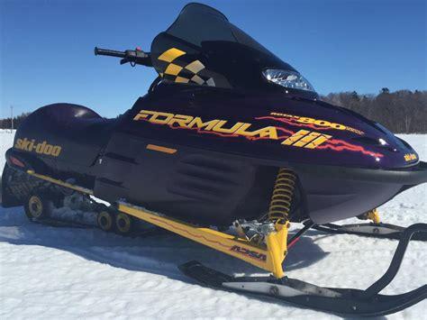 formula 3 skidoo 1999 ski doo formula iii 800 open to reasonable offers