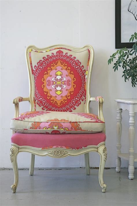 Upholstered Chairs For Sale Design Ideas Vintage Chair Paradise Punch Chair Fabrics Vintage Chairs Pink Chairs