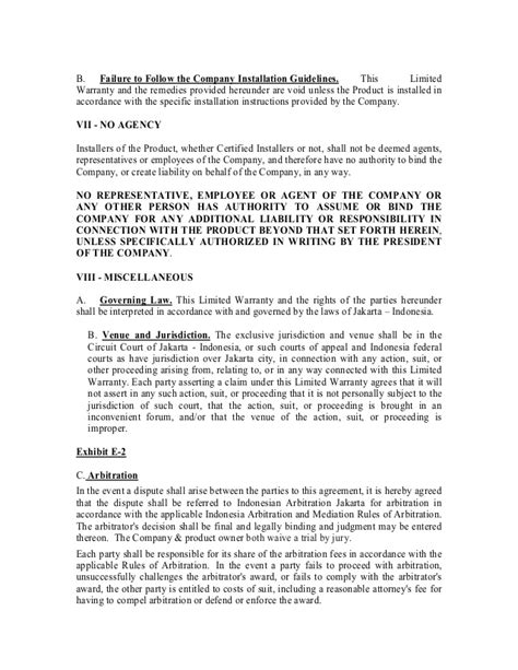 Guarantee Letter For Construction Work 010 Warranty Letter Of Viro Thatch