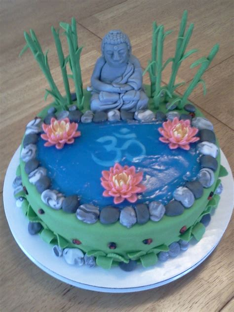 Home Decorating Forum Buddha Cake Cakecentral Com