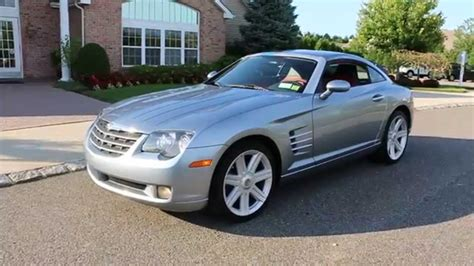 chrysler crossfire coupe review of 2008 chrysler crossfire limited coupe for sale