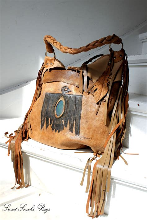 Sandal Wanita Block Heels Brown Coklat Z5 brown fringed leather tribal eagle aztec navajo southwestern motorcycle bag motor bag