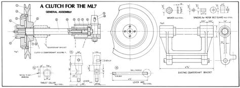 Floor Plan Free Download free plan a clutch for the ml7 lathe tools