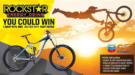 Mountain Bike Sweepstakes - rockstar giant mountain bike chevron contest rockstar energy drink