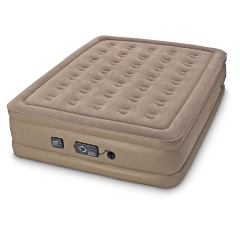 insta bed raised air mattress with neverflat system 663899 air beds at sportsman s