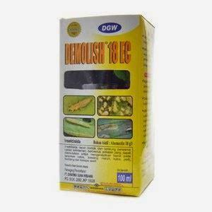 Insektisida Demolish 18 Ec 100 Mldemolish 18ec 100ml pengendali hama terpadu 12 23 14
