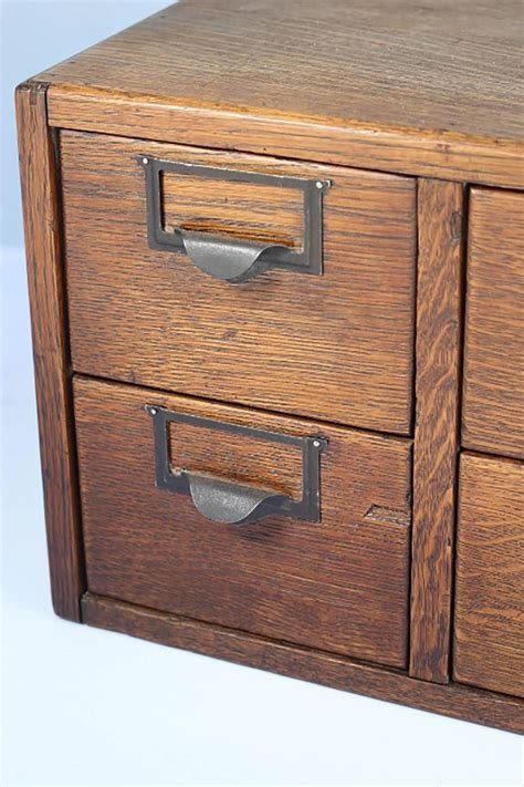 1930s four drawer library index card cabinet at 1stdibs