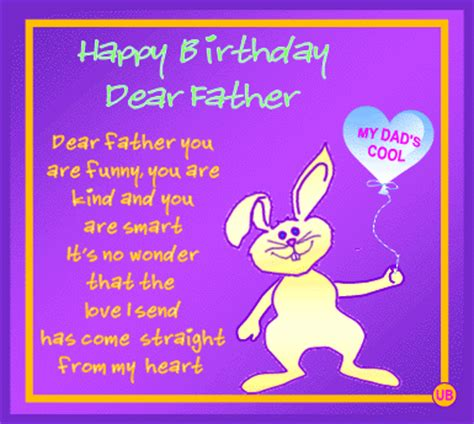 Birthday greetings quotes for father m4hsunfo