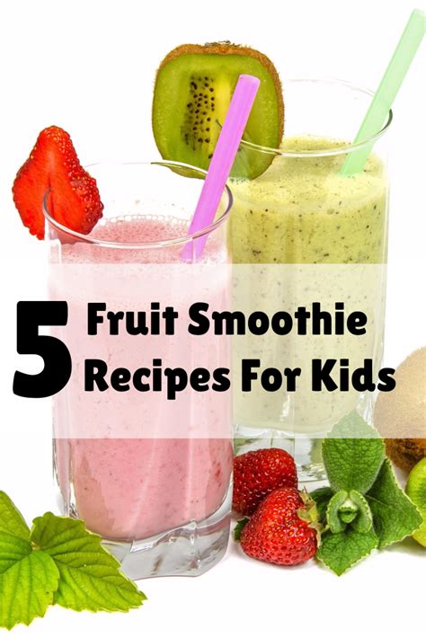 5 fruit recipes 5 fruit smoothie recipes for preemie baby