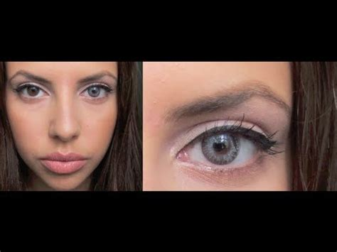 colored contacts for brown eyes freshlook youtube