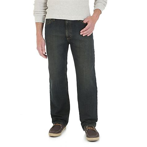 wrangler comfort fit jeans wrangler 174 advanced comfort relaxed fit jean mens jeans