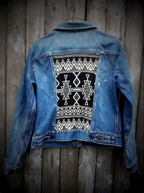 diy denim jacket from jean jacket diy diy crafts