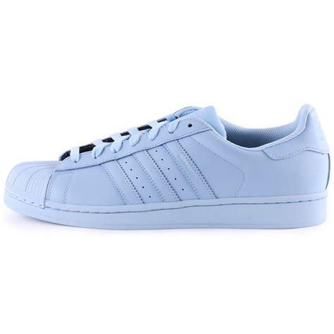 Image Gallery Light Blue Adidas Superstar