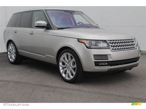 2016 Aruba Metallic Land Rover Range Rover Supercharged