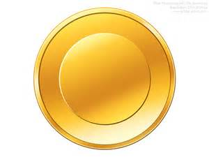 gold coin template psd gold coin icon psdgraphics
