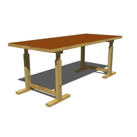 old ikea desk models ikea threstletable v2 3d model formfonts 3d models