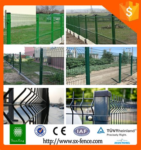 china supplier green invisible high security fence fence