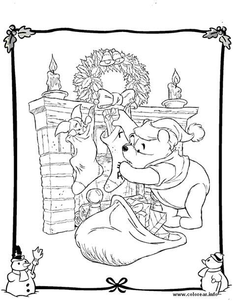 imagen de winnie pooh de navidad para colorear imagenes pooh con regalos de navidad winnie the pooh dibujos e