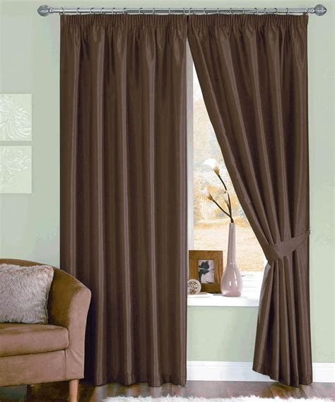 Ready Made Curtains And Valances chocolate java ready made curtains free uk delivery terrys fabrics