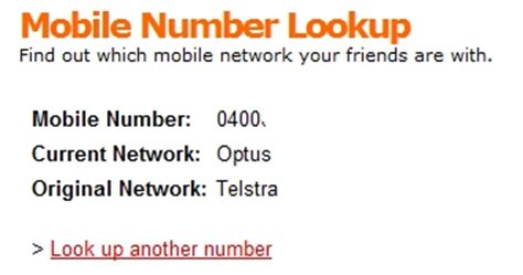Phone Number Lookup Australia Free Mobile Number Lookup Tells You Which Network A Contact