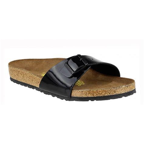 birkenstock sandals black birkenstock birkenstock madrid 040301 birko flor schwarz