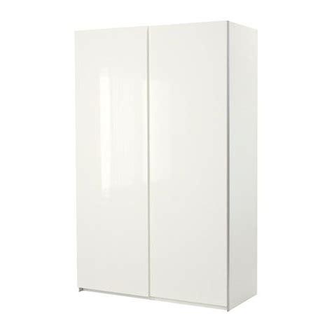 Ikea Pax Wardrobe Dimensions - ikea pax wardrobe white with hasvik sliding doors high