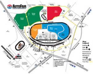 track maps fan info motor speedway