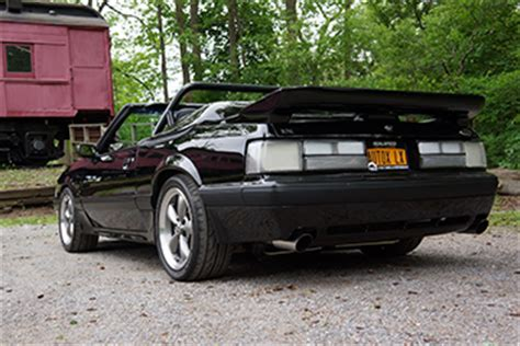 91 Mustang Auto To Manual Swap by Autocross Boss Kevin Hamel S 91 Coyote Swapped Fox Stangtv