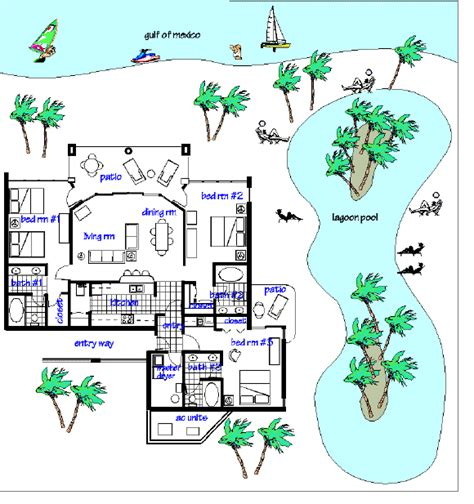 majestic resort floor plans panama city beachfront condominiums tower 2