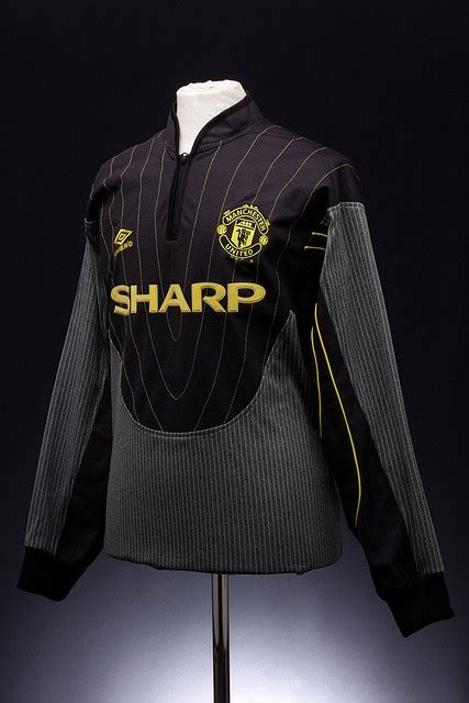 Goalkeeper Mu Away Ls manchester united football shirt 1998 2000 manchester