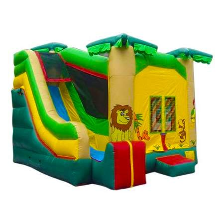 bounce house games jungle combo twist bouncer bounce house party rental kurt james fun and games