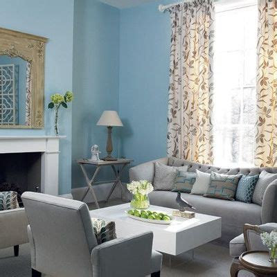 gray and blue living room blue and gray living room with tall floral drapes baby