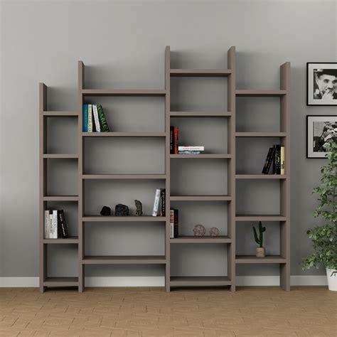 scaffale libreria legno barry libreria scaffale da terra in legno bianco o