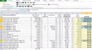 project costing template excel construction project cost estimate excel template sheet