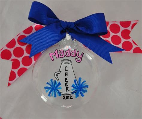 cheer ornament personalized ornamnet christmas by