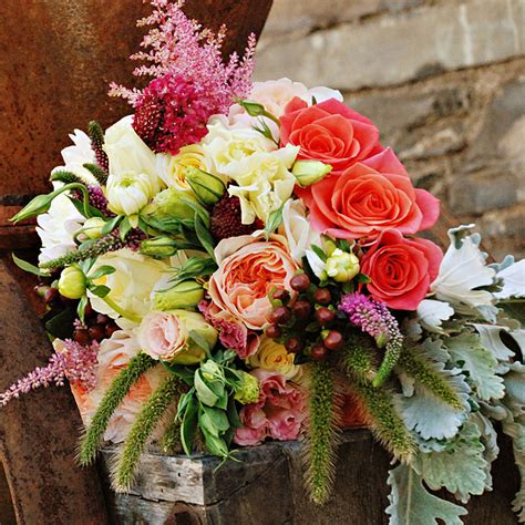 fall flowers for weddings the autumn wedding lovely bouquets i like