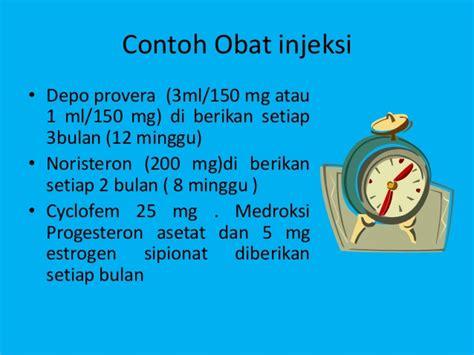 Obat Pelancar Haid Provera kontrasepsi hormonal