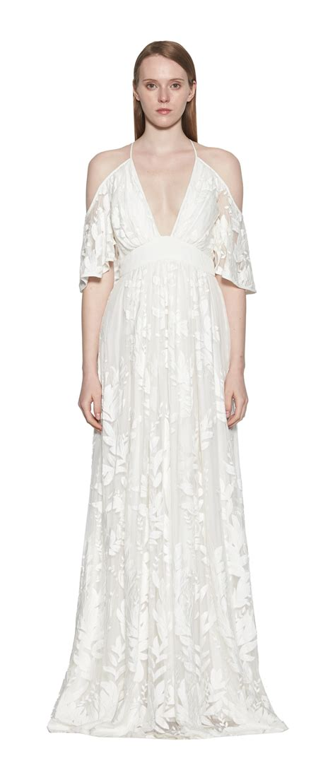 dress titian titian silk embroidered maxi dress