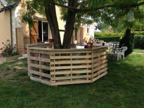 Outdoor Patio Bar Ideas Recycled Wood Pallet Bar Ideas Pallet Ideas Recycled
