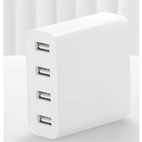 Xiaomi Charger Usb 2 Port 2a xiaomi cdq01zm 4 usb ports charger adapter white free