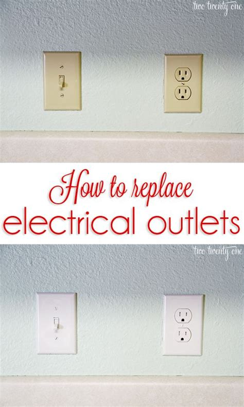 colored electrical outlets how to replace electrical outlets the a