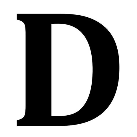 12.5 in. Metal Letter D Wall Plaque-1865606270 - The Home ... D